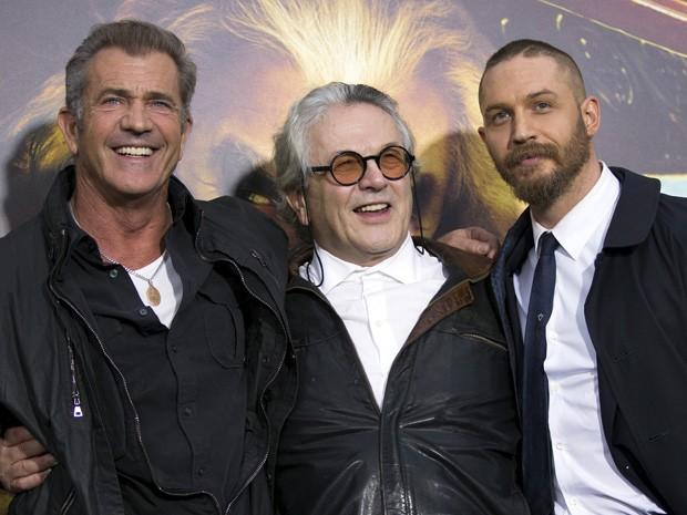 Triunvirato da Loucura: Mel Gibson, George Miller e Tom Hardy