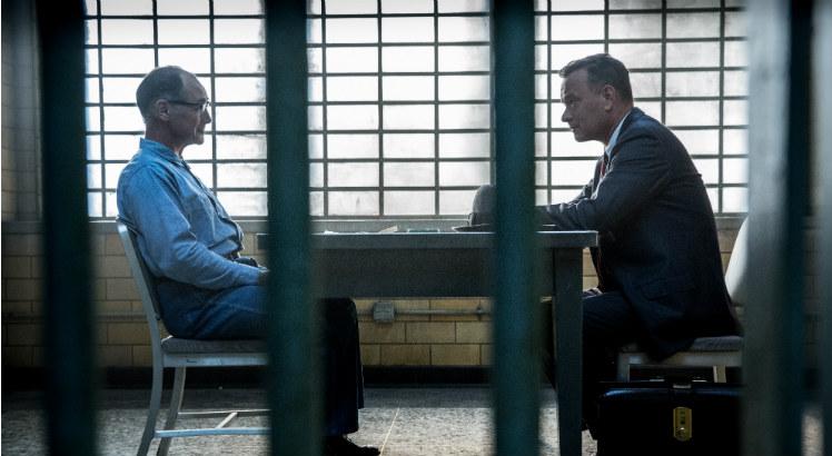 Abel e Donovan: o espião russo tranquilo e o advogado persistente